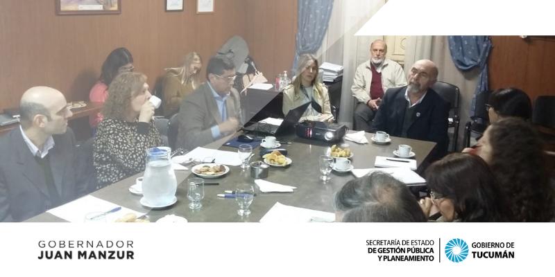Encuentro para la creación del Consejo Consultivo del Sistema Estadístico Provincial (SEP)